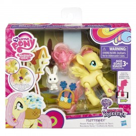 My Little Pony Friendship is Magic Fluttershy Flower Picking