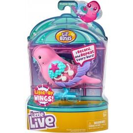 Little Live Pets cocoritos L'Originale Personaggio - Shelly Shine - con Effetto luci e Suoni  giochi preziosi