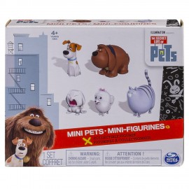 The Secret Life Of Pets 6028102 - Mini Personaggi Confezione da 5