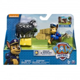 Paw Patrol Chase & Marley Rescue Set di Spin Master