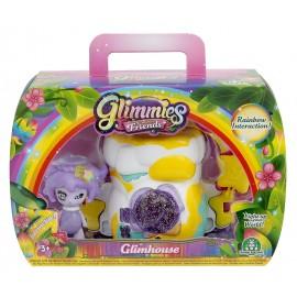 Giochi Preziosi - Glimmies Rainbow Friends Glimhouse, Roccia con Glimmies, Felixia