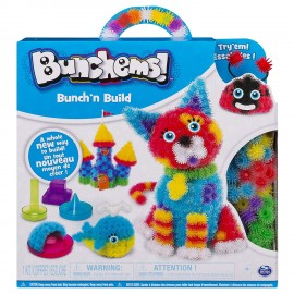 Bunchems - Bunch 'n Build Kit con Formine di Spin Master 6044156