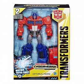 Transformers Cyberverse Ultimate Optimus Prime di Hasbro E2067