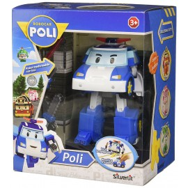 Robocar Poli PERSONAGGIO POLI TRASFORMABILE CON LUCI  -14 CM CIRCA VARIABILE IN BASE AL MODELLO
