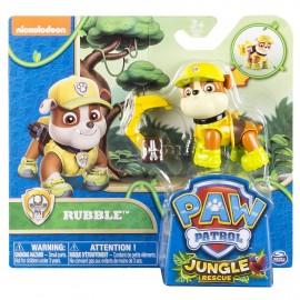 Figura Paw Patrol  Pup Jungle Rubble di Spin Master