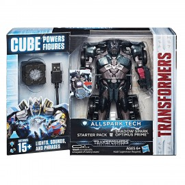 Transformers All Spark Tech - Shadow Spark Optimus Prime di Hasbro C3480-C3368