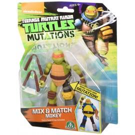 Tartarughe Ninja, Mix & Match Michelangelo 10 cm di Giochi Preziosi TUM03111