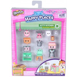 Shopkins Happy Places Decorator Pack Kitty Kitchen/cucina di Giochi Preziosi HPH02512