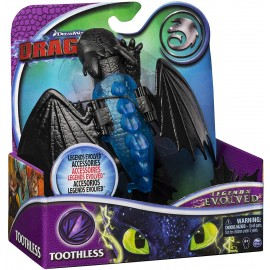 Dragons- DreamWorks Legends Evolved, Toothless Dragon Action Figure di Spin Master 6056050
