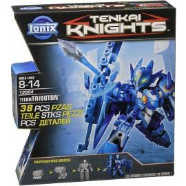 Tenkai Knights - Titan Confezioni di Circa 40 Pezzi,Titan Tributon 13004 di Spin Master
