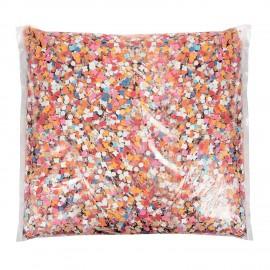 coriandoli in sacco da 1 kg economico , immagine con contenuto del sacco variabile