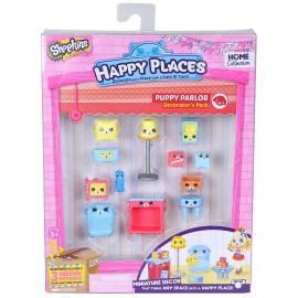 Shopkins Happy Places Decorator Pack Puppy Parlor di Giochi Preziosi HPH02512