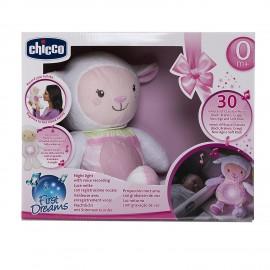 CHICCO Pecora Baby Senses Mamma Lullaby Pecorella, Rosa