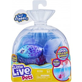 Little Live Pets Lil' Dippers Furtail Single Pack  aquaritos di Giochi Preziosi LP101000