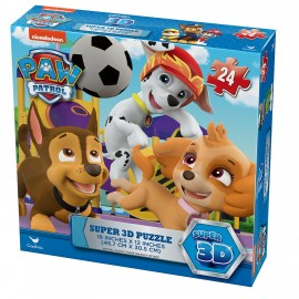 Paw Patrol  Super Puzzle 3D - 6028786 di Spin Master