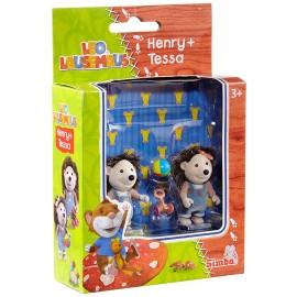 Set di figurine TOPO TIP, Henry e Tessa di Simba