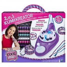 Cool Maker- KumiKreator 2 in 1, Macchina per Creare Braccialetti e Collanedi Spin Master 6053898