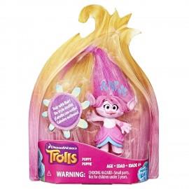 DreamWorks Trolls Poppy- Figura Collezionabile con capelli stampati di Hasbro