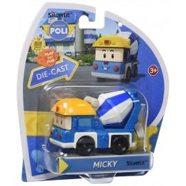 Robocar Poli Toy - Micky (Diecasting/Non-Transformer)
