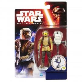 Star Wars The Force Awakens, Resistenza Trooper 9,5 cm di Hasbro B3451-B3445