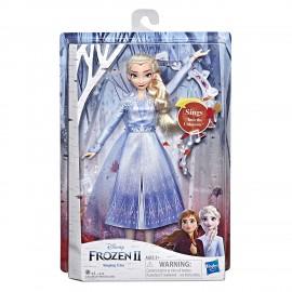 Disney Frozen 2 - Elsa Cantante E6852-E5498 Hasbro