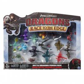 Spin master 66605 dragons - battle dragons collection