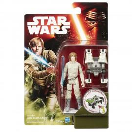 Star Wars-  Luke Skywalker action figure 9,5 cm di Hasbro B3448-B3445