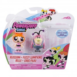 Powerpuff Girls 6028017 Powerpuff Girls - Le Superchicche Blossom & Lumpkins Fuzzy