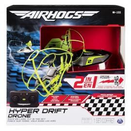 Air Hogs Hyper Drift Drone R/C, Verde di Spin Master 6040078