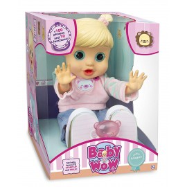 Baby Wow Zoe Impara a Camminare - Lingua Italiana di IMC Toys 96325