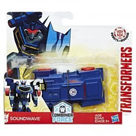 Transformers 1 Step, Soundwave Action Figure di Hasbro C2339-B0068