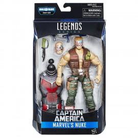 Captain America Guerra Civile (Civil War): Marvel Legends - Nuke 15cm Figura B6395-B6355