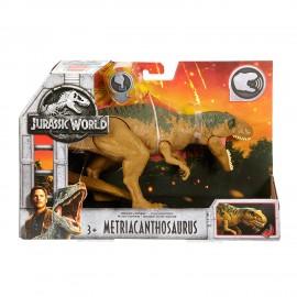 Jurassic World - Metriacantosauro Dinosauro con Suoni di Mattel FMM28