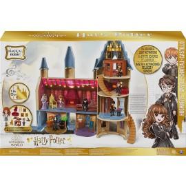 Harry Potter Castello di Hogwarts, con 12 accessori, luci, suoni e bambola Hermione esclusiva, Spin Master 6061842