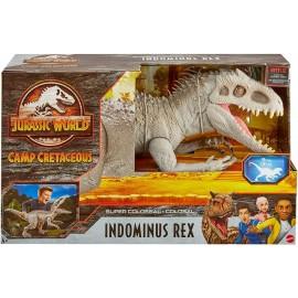 Jurassic World Dinosauro Indominus Rex Super Colossale di Mattel GPH95