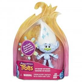 Trolls Guy Diamond Figura Collezionabile con capelli stampati C3425 di Hasbro