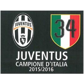 Bandiera Juventus Ufficiale 2016  misure 100 X 140 CM CIRCA