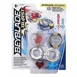 Beyblade Dual Pack Spryzen e Odax B9491 B9493 HASBRO