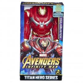 Marvel Avengers Infinity War Hulkbuster Titan Hero Power FX, circa 30 cm di  Hasbro E1798