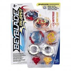 Beyblade Burst Dual Pack Roktavor & Nepstrius B9496 B9491 Hasbro