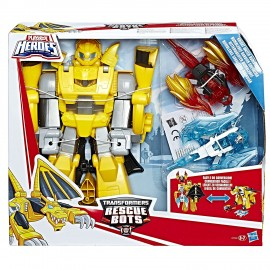 Transformers Rescue Bots - Bumblebee si trsforma in drago