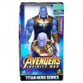 Marvel Avengers - Infinity War Thanos Titan Hero Power FX, Personaggio 30 cm di Hasbro E0572