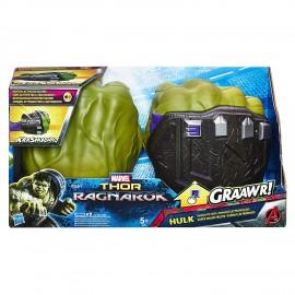 Marvel Thor Ragnarok - Hulk Pugni Elettronici B9974 di Hasbro