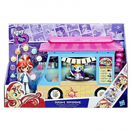 My Little Pony - Equestria Mini Sunset Shimmer Sushi Bar di Hasbro C1840