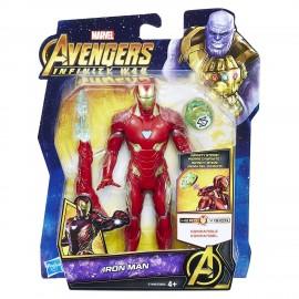The Avengers Infinity War  Iron Man con Gemma dell'Infinito di Hasbro E1406-E0605