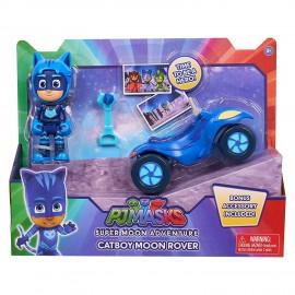 PJ Masks Pigiamini Gattoboy Super Moon Rover di Giochi Preziosi