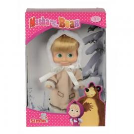 Masha Mini doll Classica cappotto invernale 12 Cm, Simba Masha d'inverno 9,00 euro