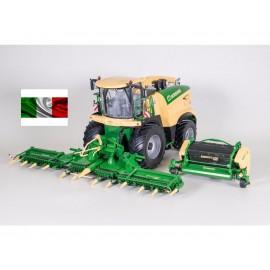 Ros Trincia Krone BiG X 1180 + XCollect 900-3 & EasyFlow 300 Scala 1/32 metallo e plastica  - 1-32