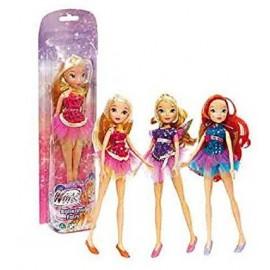 Winx Ballerina Fairy , STELLA - BLOOM - FLORA - AISHA - Collezzionabile