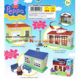 Peppa Pig - la Caserma Dei Pompieri  con 1 personaggio cod ccp 03827